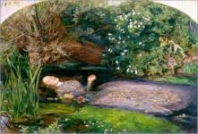 Ophélie, par Hans Limon (hommage à A. R.)