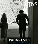 Parages 01, La revue du Théâtre National de Strasbourg