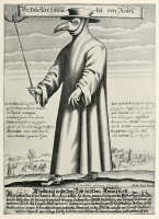 Monseigneur de B. - La Peste Noire (par Marie-Pierre Fiorentino)