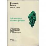Ode maritime et autres poèmes, Fernando Pessoa, Alvaro de Campos