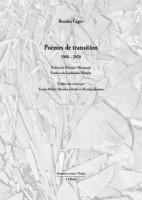 Poèmes de transition 1980-2020, Branko Čegec (par Didier Ayres)