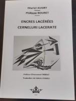 Encres lacérées, Muriel Augry (poèmes), Philippe Bouret (encres) (par Murielle Compère-Demarcy)