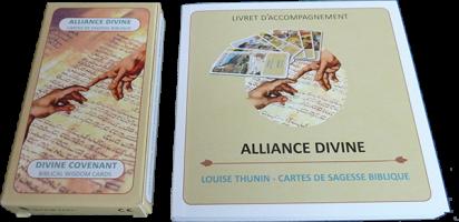 Paroles de Louise Thunin, réveillées par Matthieu Gosztola, au sujet d'Alliance divine